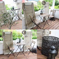 Klappläde, Fensterläden, Bistro Tisch Set Ikea Ikea, Patio, Outdoor Decor, Home Decor, End Table Sets, Balcony, Decoration Home, Ikea Co, Room Decor