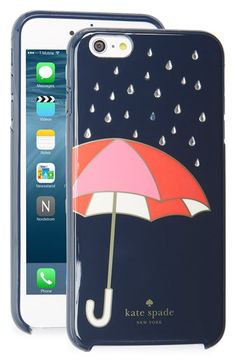 kate spade new york 'umbrella' iPhone 6 Plus & 6s Plus case available at #Nordstrom