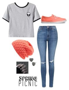 """""""Untitled #2987"""" by if-i-were-famous1 ❤ liked on Polyvore featuring Vans, Chicnova Fashion, Topshop, Burton and Betsey Johnson"""