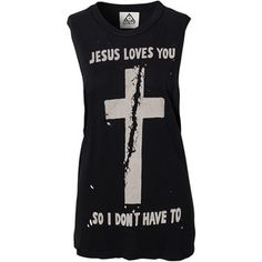 Unif Jesus Loves You Top