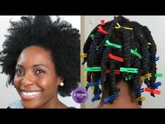 How To Keep Type 4 Hair Stretched and Tangle-Free… on WASH DAY!