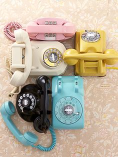 TELEPHONE~Vintage Phones - Collecting Ideas - Country Living