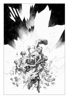 Hellboy by Mike Mignola