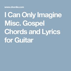 MercyMe – I Can Only Imagine Lyrics | Genius Lyrics
