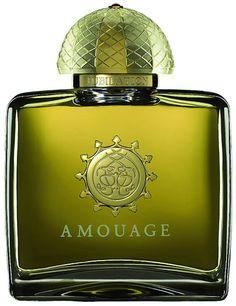 Amouage Jubilation. Notes: ylang-ylang, rose, tarragon, lemon, labdanum, artemisia, incense, amber, patchouli, musk, vetiver, myrrh.