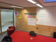Creative thinking space at Laurea