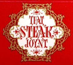 THAT STEAK JOYNT