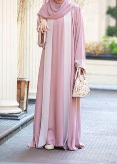 Drape yourself in pure luxury with our gorgeous Hanifa Abaya. A companion to the beautiful Malina Abaya, our Hanifa Abaya is elegant, classy and sophisticated. Islamic Fashion, Muslim Fashion, Modest Fashion, Abaya Designs, Muslim Dress, Hijab Dress, Dress Muslim Modern, Modest Dresses, Casual Dresses