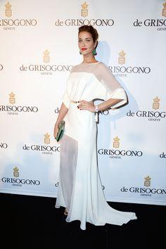Ana Beatriz Barros in Elie Saab dress at 2013 Cannes Film Festival Trendy Dresses, Elegant Dresses, Nice Dresses, Formal Dresses, Beauty And Fashion, White Fashion, Haute Couture Brands, Elie Saab Kleider, Vestidos Para Baby Shower
