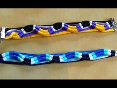 [TUTO] Easy Friendship Bracelet (Beginner) - Ears of grain Bracelet Knots, Paracord Bracelets, Macrame Bracelets, Ankle Bracelets, Jewelry Bracelets, Diy Bracelet, String Bracelets, Friendship Bracelets Tutorial, Bracelet Tutorial