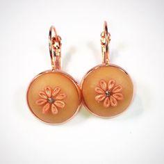Polymer Clay Earrings, Enamel, Accessories, Instagram, Vitreous Enamel, Enamels, Glaze, Ornament