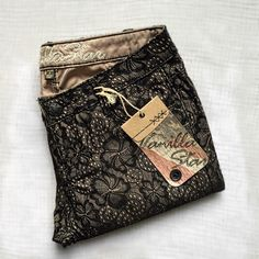 Black Floral Lace Pants A classic combo of nude and black to create an elegant fun floral lace pant. Also available in size 7. Vanilla Star Pants Skinny