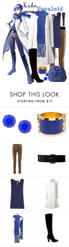 """""""[Vocaloid] Kaito"""" by khalsei ❤ liked on Polyvore featuring FOSSIL, CC SKYE, Cambio, Reiss, N°21, Basile, Sennheiser, Zara and Marc by Marc Jacobs"""