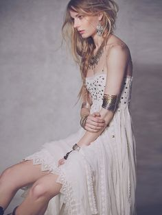 Free People Studded Lace Party Dress at Free People Clothing Boutique