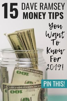 These Dave Ramsey tips are super helpful! If you need some ideas on Dave Ramsey .These Dave Ramsey tips are super helpful! If you need some ideas on Dave Ramsey budgeting, paying off debt, or saving money like crazy, then definitel. Money Tips, Money Saving Tips, Money Savers, Money Budget, Saving Money Jars, Budget Help, Making A Budget, Managing Money, Money Hacks