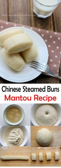 Chinese Steamed Buns(Mantou Recipe) | China Sichuan Food