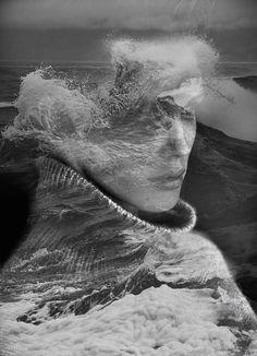 Double Exposure Portraits by Antonio Mora ile ilgili görsel sonucu Creative Photography, Art Photography, Double Exposure Photography, Fantasy Portraits, Surreal Portraits, Multiple Exposure, Spanish Artists, Foto Art, Nature Images