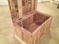 DIY Pallet Wood Chest | Pallet Furniture DIY