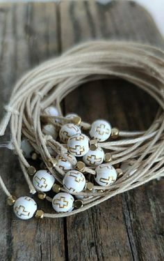 Christening Bracelets, Boy Baptism, Daughter Of God, Very Lovely, Wax, My Etsy Shop, Handmade Items, White Gold, Check