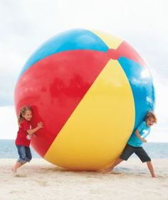 Throwing around the idea of having to roll balls like these in a team race at the wedding. Japanese kids do something very similar at their elementary school field days.