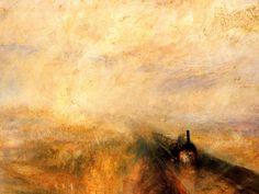 William Turner - lluvia vapor y velocidad