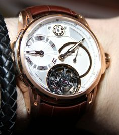 Antoine Martin Tourbillon Quantieme Perpetual Watch Hands On