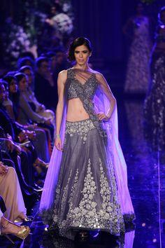 Lengha by Manish Malhotra at Lakme Fashion Week 2014