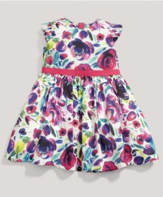 Girls Limited Edition Flower Dress