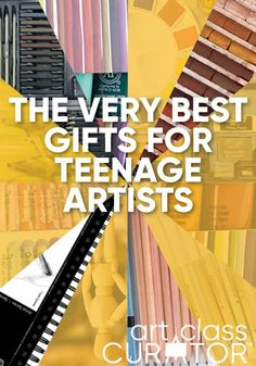 A focused on some good quality (but not too expensive) art supplies for teens. Having nice materials really helps take your art to the next level.