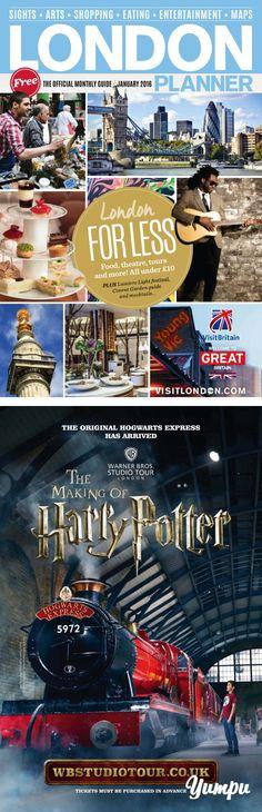 LONDON - Magazine with 100 pages: LxXoE2vr London Free, London Map, Co Uk, Travel Magazines, Travel Agency, Hogwarts