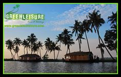 #Kerala is the land of #Kera - Cocunut Tree  #Backwaters - #Speciality of #Kerala   http://www.greenleisuretours.com/Alleppey-Houseboat-Package.php  Reach us GreenLeisure Tours & Holidays for any #Kerala #Tour #Packages   www.greenleisuretours.com  Like us & Reach us https://www.facebook.com/GreenLeisureTours for more updates on #Kerala #Tourism #Leisure #Destinations #SiteSeeing #Travel #Honeymoon #Packages #Weekend #Adventure #Hideout — in Alleppey.