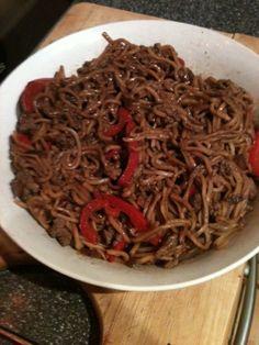 Vicki-Kitchen: Chili beef noodles (slimming world friendly)