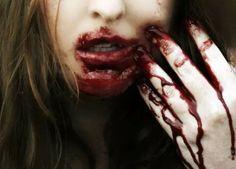 Картинка с тегом «blood and lips»