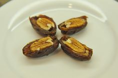 Fancy Medjool Dates + Pecans = Pecan Pie
