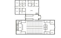 Church Building Floor Plans   Gen Steel