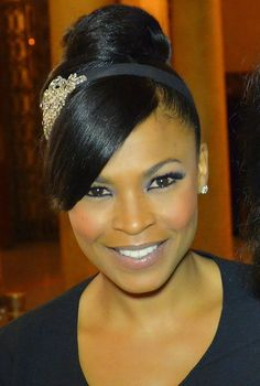 """""""Nia Long flies under the radar. You must admire the way she conducts herself too. The Black actress earns her keep. I only have nice things to say about Nia. She is similar in style to Halle Berry."""" ~Guru Jay"""