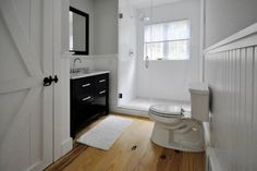 Upstate Barn - transitional - Bathroom - New York - decca + decca design studio