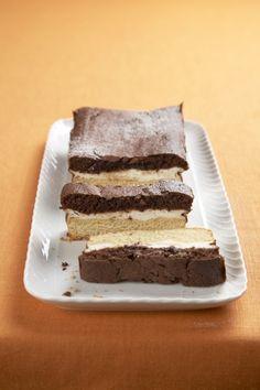 Recept: Tříbarevný koláč | iGurmet.cz