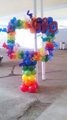 cuadro para fotografias hechos de globos - Buscar con Google