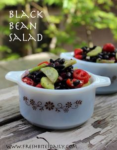Your go-to party and potluck black bean salad