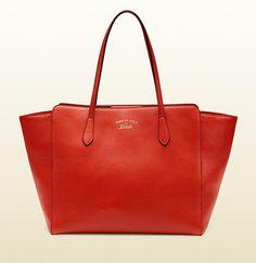 Gucci - gucci swing leather tote 354397CAO2G4173