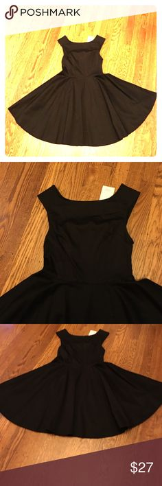 Short little black dress Short little black dress size- tall petite TP XS. Brand New with tag. Tobi Dresses High Low
