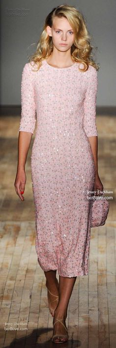 Jenny Packham Spring 2015 #Modest doesn't mean frumpy.