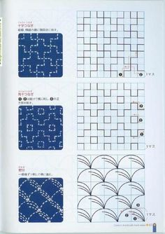 Sashiko Fabric - Butterflies and Sashiko - Sylvia Pippen Sashiko Pre-printed Fabric Kit - Japanese Embroidery, Quilting, Sewing - Embroidery Design Guide Hand Embroidery Patterns, Embroidery Thread, Embroidery Tattoo, Machine Embroidery, Embroidery Supplies, Shashiko Embroidery, Japanese Embroidery, Embroidery Techniques, Quilting Designs