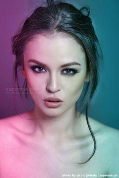 Georgina Wilson. Most Beautiful Faces, Gorgeous Women, Georgina Wilson, Goth Princess, Eye Makeup, Hair Makeup, Filipina Beauty, Photography Poses, Eye Candy