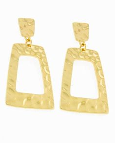 See-Through the Window Gold Earrings - Krimson and Klover a Women's Clothing Boutique