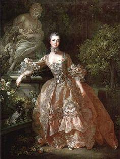 Jeanne Antoinette Poisson - Pompadour- par Boucher