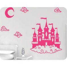 Vinilos Decorativos Infantiles 36 | Castillo de princesa