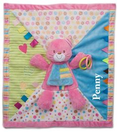 Personalized Kitty Cat Play Blanket