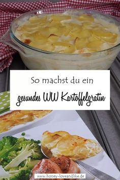 Es ist Zeit mal wieder ein Weight Watchers Rezept zu posten. Alle lieben hier Kartoffeln. Und weil man ein Kartoffelgratin auch sehr gesund zubereiten kann, zeige ich dir gerne das Weight Watchers Kartoffelgratin mit Gemüsebrühe. Wir sind begeistert!  #WeightWatchers #WW #WWPunkte #WWpoints #Smartpoints #WeightWatchersKartoffelgratin #Kartoffelgratin Plats Weight Watchers, Weight Watchers Meals, Wight Watchers, Le Diner, Fat Loss Diet, High Fiber Cereal, Nutrition, Group Meals, Healthy Weight Loss